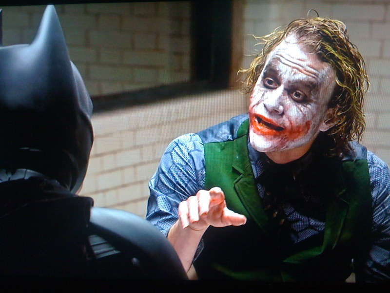 The Joker Counsels The Dark Knight about Proper Compensation for Saving Gotham