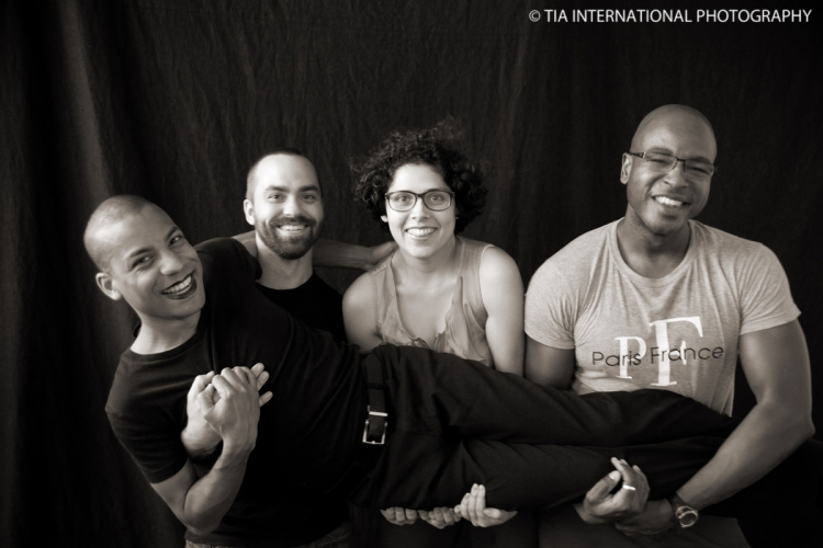 Kirk, Al, Cat, and Tosin (TIA) at the end of the CWS photo shoot.  Toronto, Ontario, Canada.  March 2012.