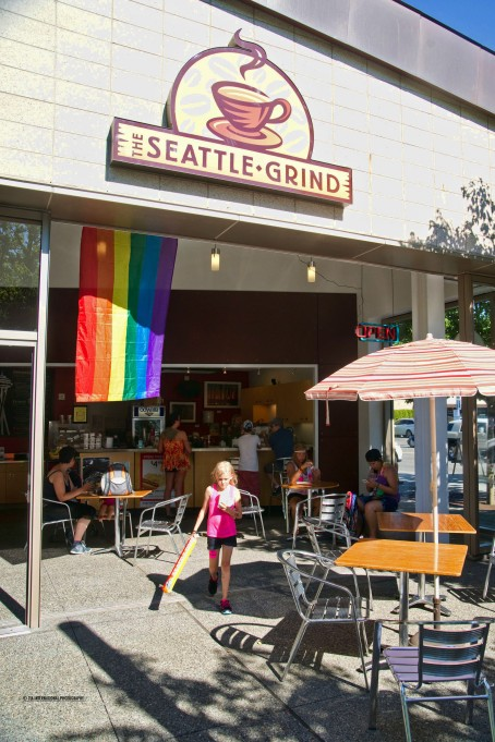 The Seattle Grind Coffee Shop