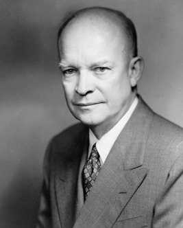 "Dwight D. Eishenhower, aka ""Ike"", 34th President of the United States"