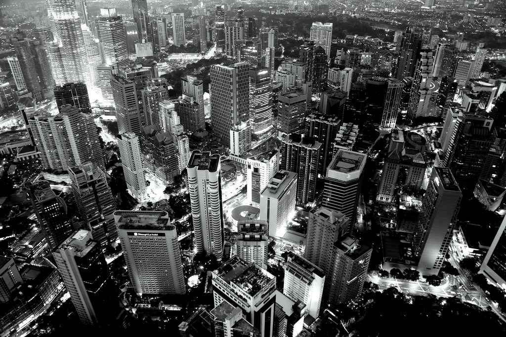 Even though he has superlative images of Sydney, TIA's all-time favorite image from Richard is this monochrome cityscape of Kuala Lumpur